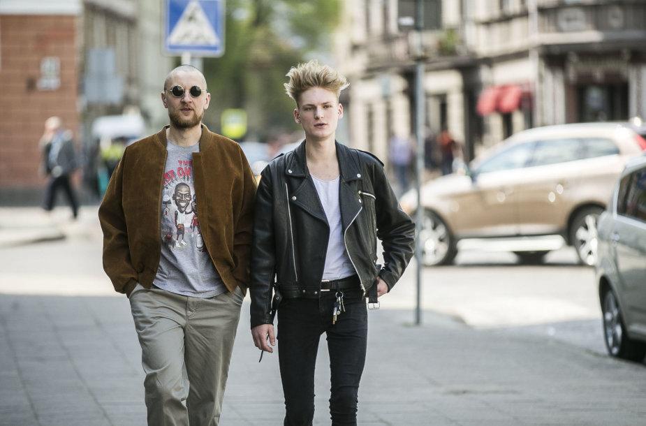 Benas Aleksandravičius-Ba (dešinėje)