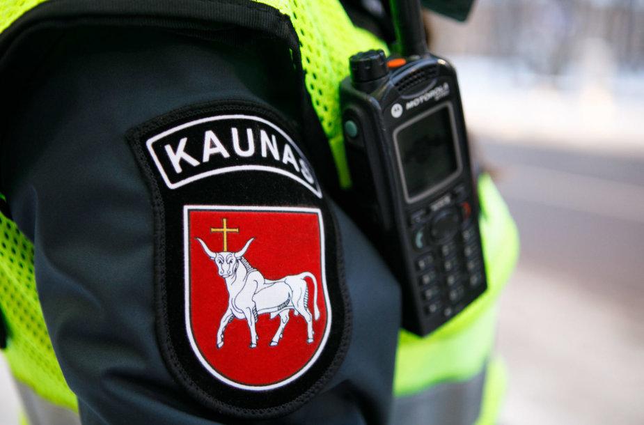 Policijos priemonės akimirkos