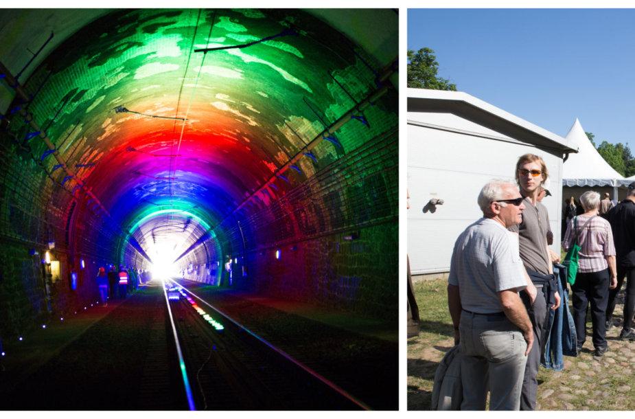 Ekskursija unikaliame Kauno geležinkelio tunelyje