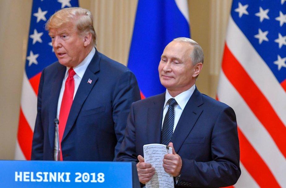 Donaldo Trumpo ir Vladimiro Putino susitikimas Helsinkyje