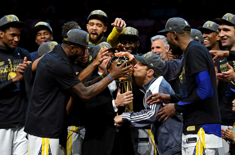 """Warriors"" triumfas 2018 m. NBA finale"