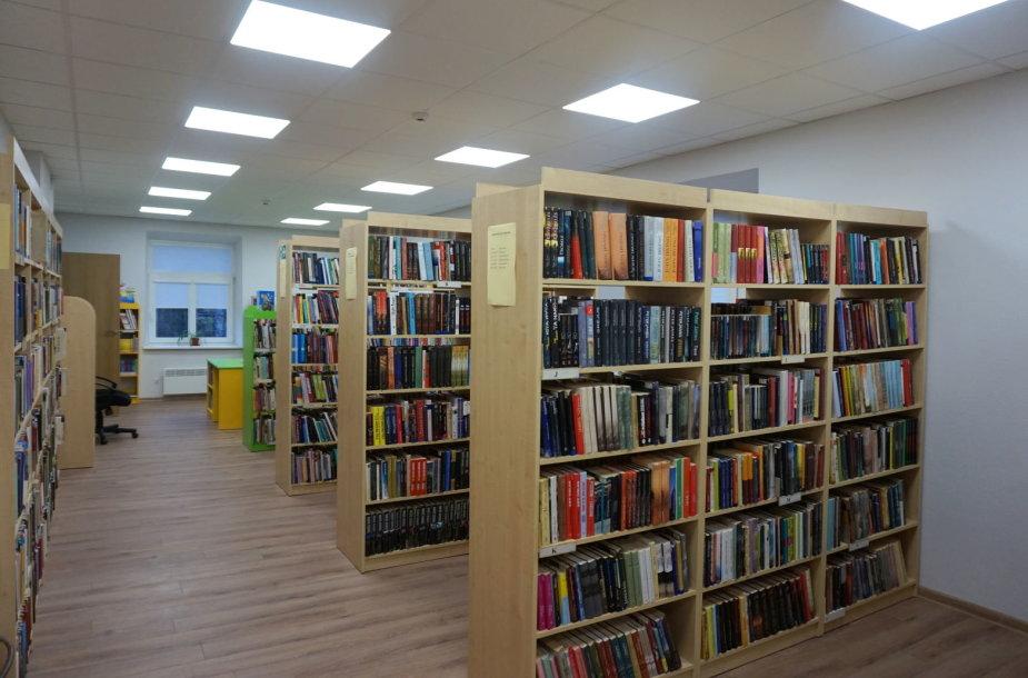 Sostinės Dzūkų biblioteka po renovacijos