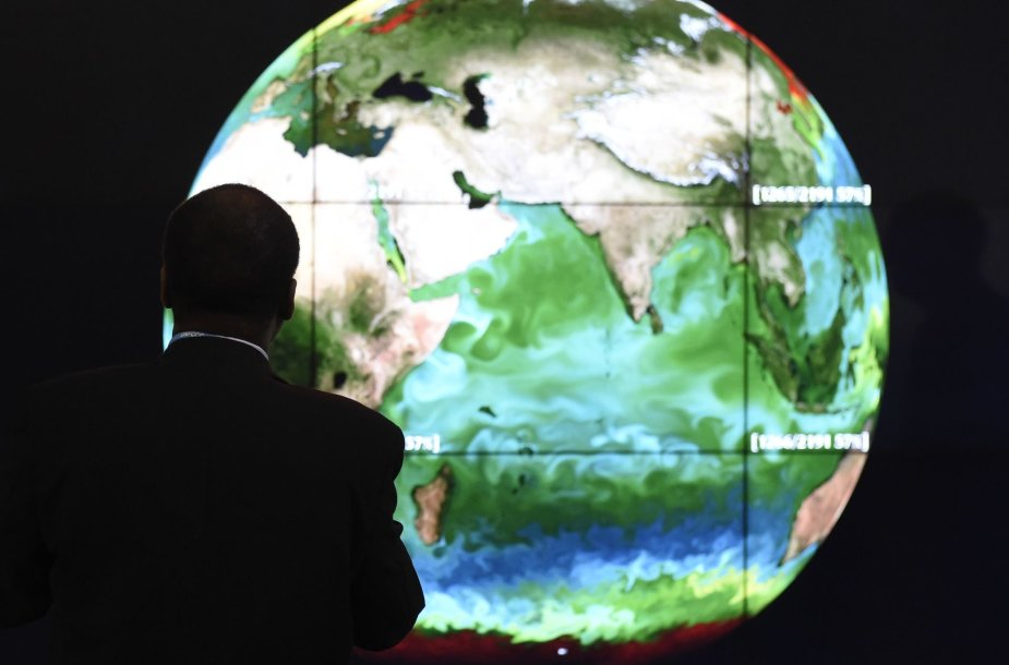 Klimato kaitos konferencijos dalyvis