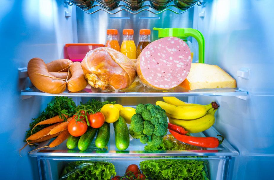 Maistas šaldytuve