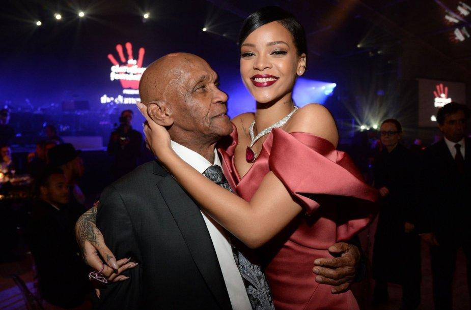 Rihanna su savo seneliu Lioneliu Braithwaite'u