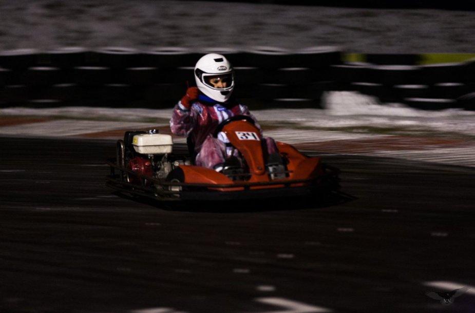 Aušra Gudvalytė svajoja apie profesionalų autosportą
