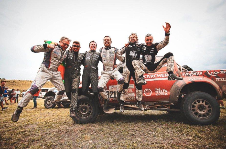 Dakaras 2018: Lietuvos komandos