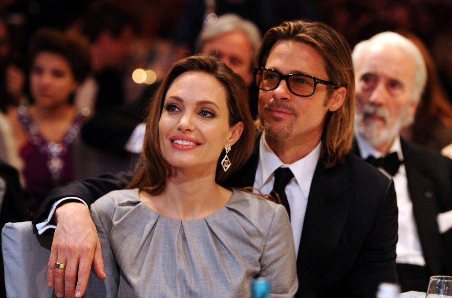 Bradas Pittas ir Angelina Jolie (2012 m.)