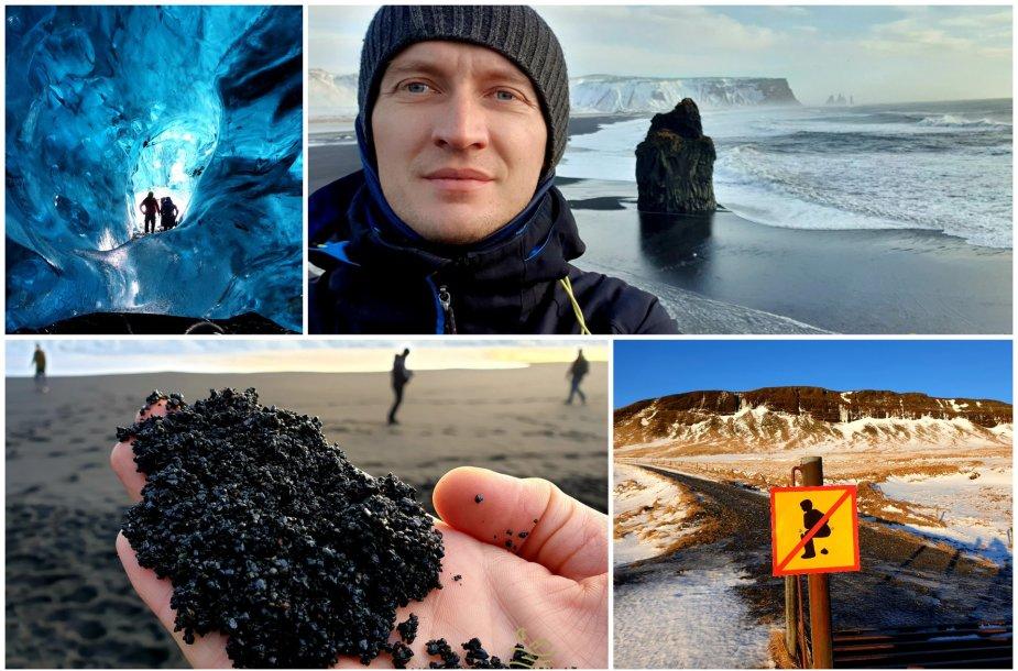 A.Morkūno kelionė po žiemišką Islandiją
