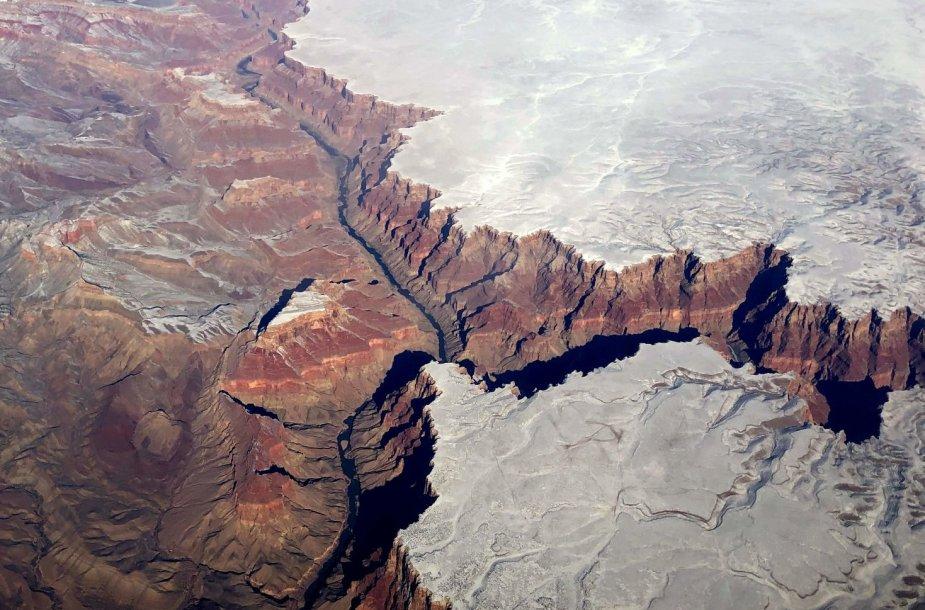 Didysis kanjonas žiemą