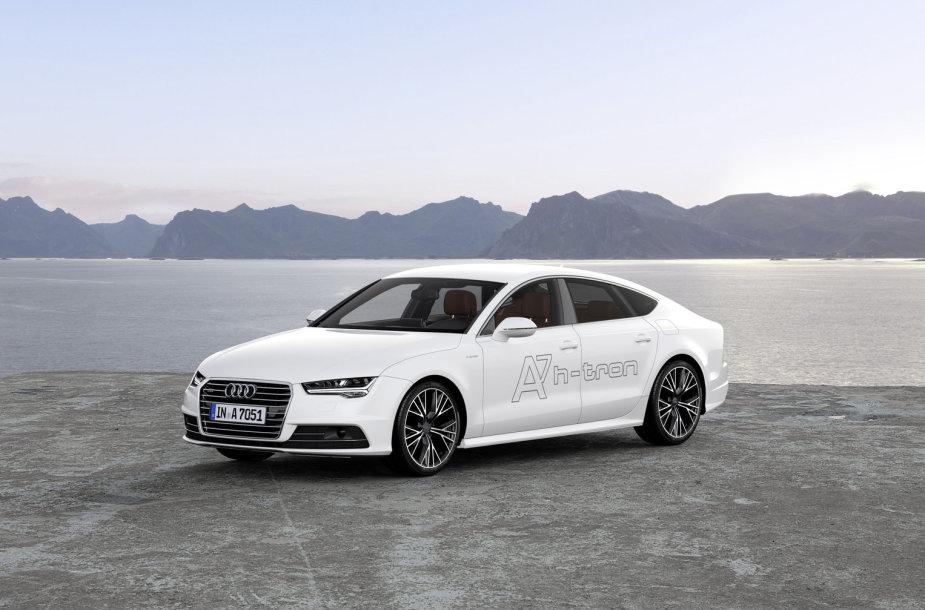 """Audi A7 Sportback h‐tron quattro"""