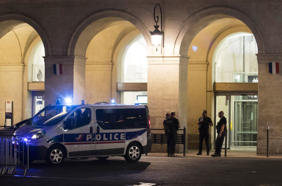 Prancūzijos policija Nimo mieste