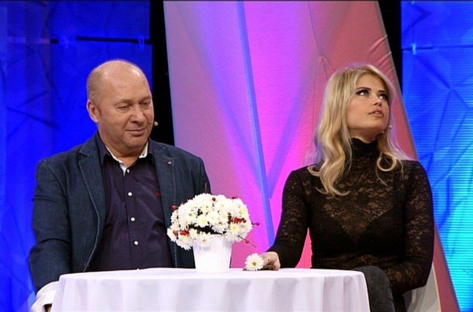 Jurijus Smoriginas ir Jolanta Leonavičiūtė