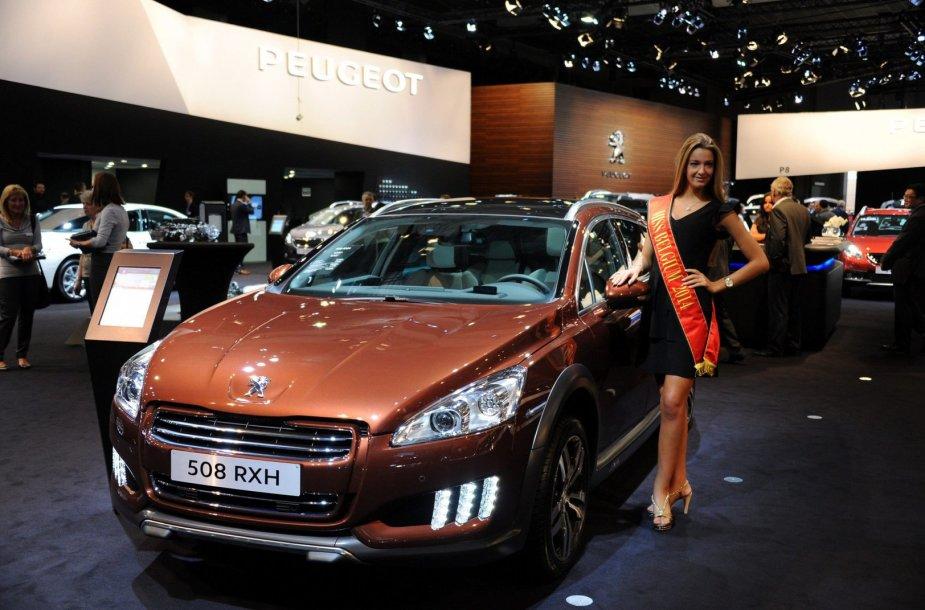 """Peugeot 508 RXH"""