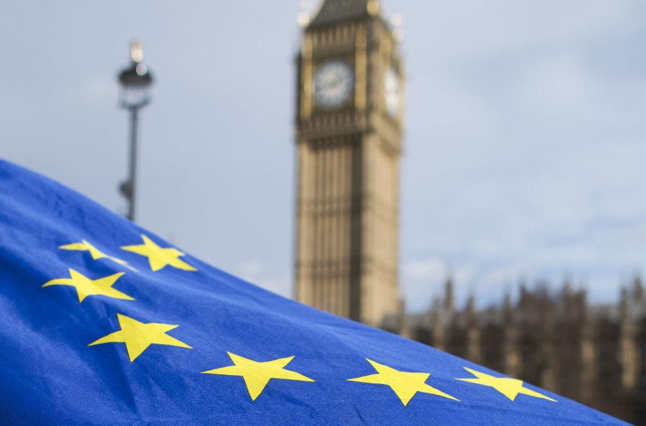 ES vėliava Londone