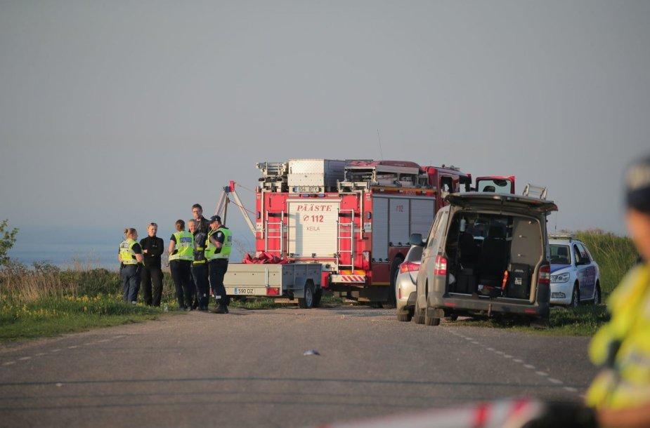 Estijoje į jūrą įkritus automobiliui žuvo jo vairuotojas