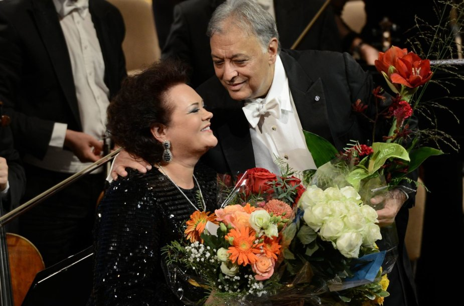 Violeta Urmana ir Zubinas Mehta
