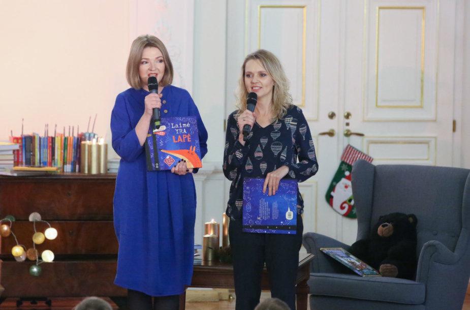 Aušra Kiudulaitė ir Evelina Daciūtė