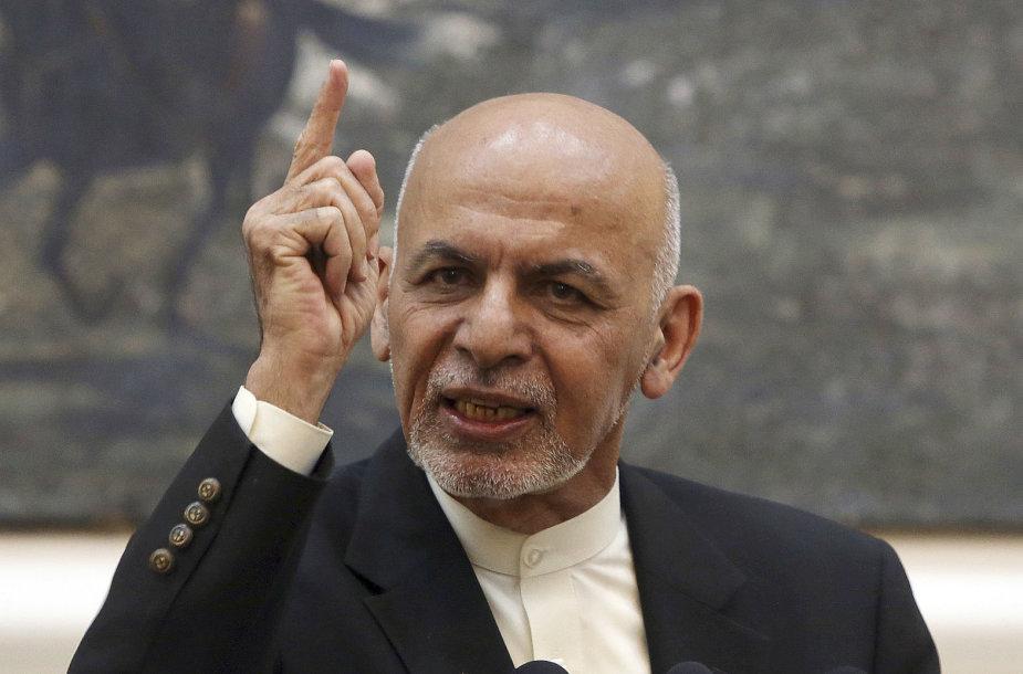 Afganistano prezidentas Ashrafas Ghani
