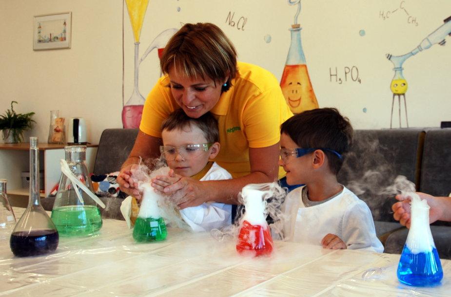Raktas į vaikų širdis – interaktyvumas ir kūrybiškas mokymas(is)