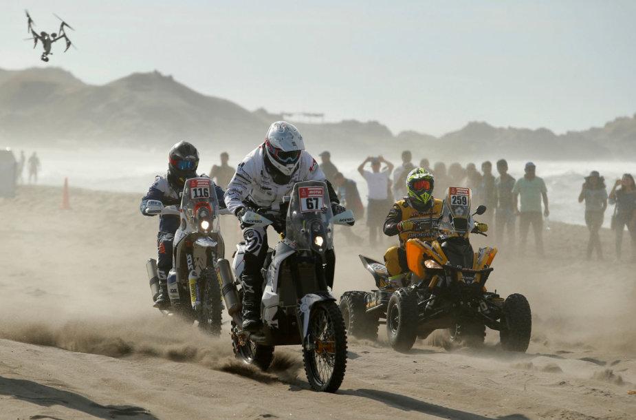 Dakaras 2018: pragariška penktoji diena