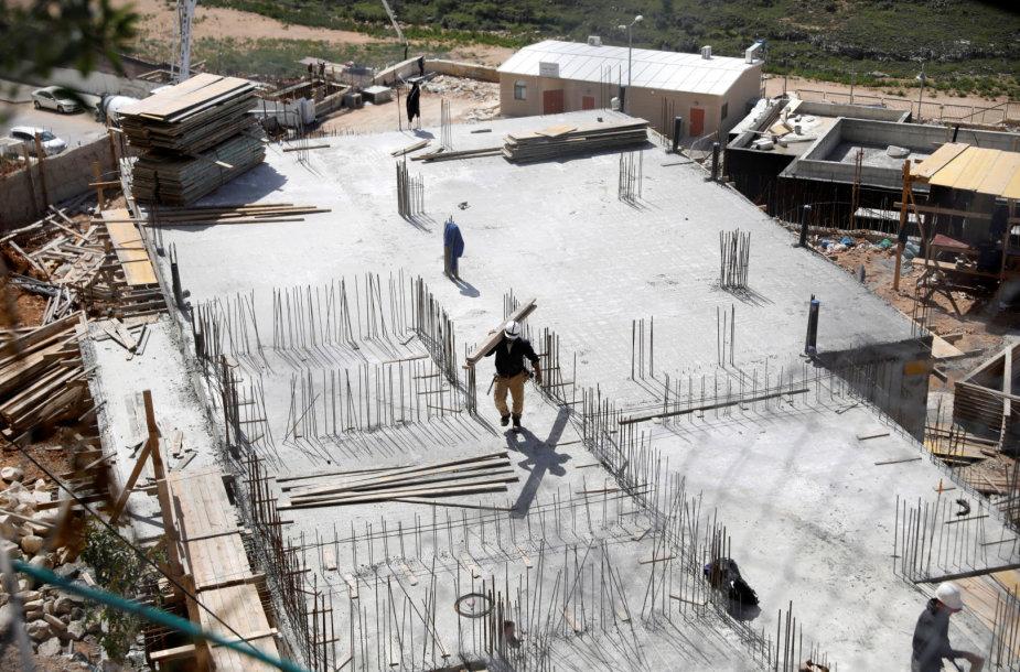 Statoma Izraelio nausėdija okupuotame Vakarų Krante