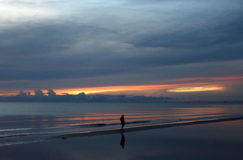 Hua Hino paplūdimys Tailande