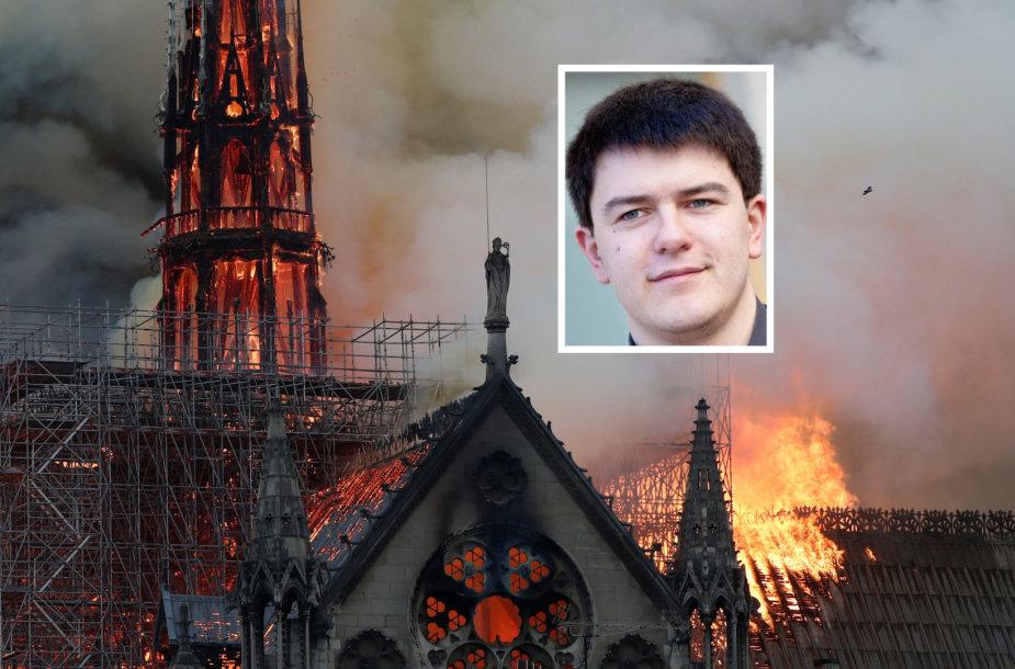 Deganti Paryžiaus Dievo Motinos katedra, Vytautas Sinica