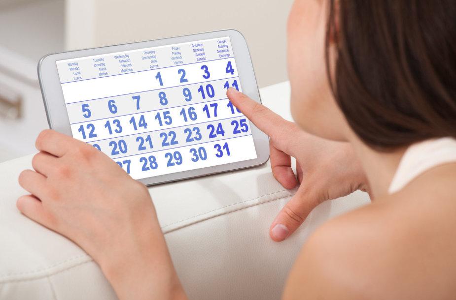 Moteris ir kalendorius