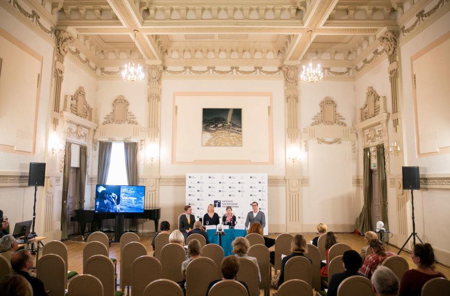 Lietuvos Nacionalinės Filharmonijos 78-ojo sezono pristatymas