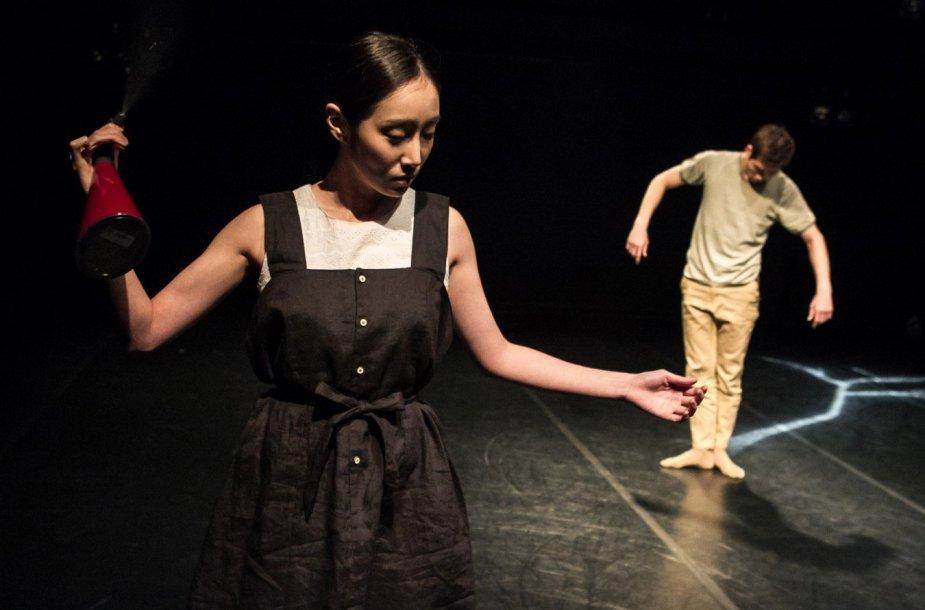 """Teatrai.lt iš tarptautinio šokio festivalio """"Aura"""", antroji festivalio diena. Organizatorių nuotr."""