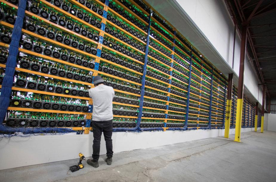 Kriptovaliutų ferma