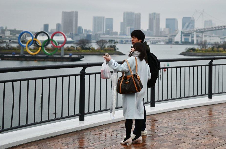 Šią vasarą Tokijuje vyks olimpinės žaidynės