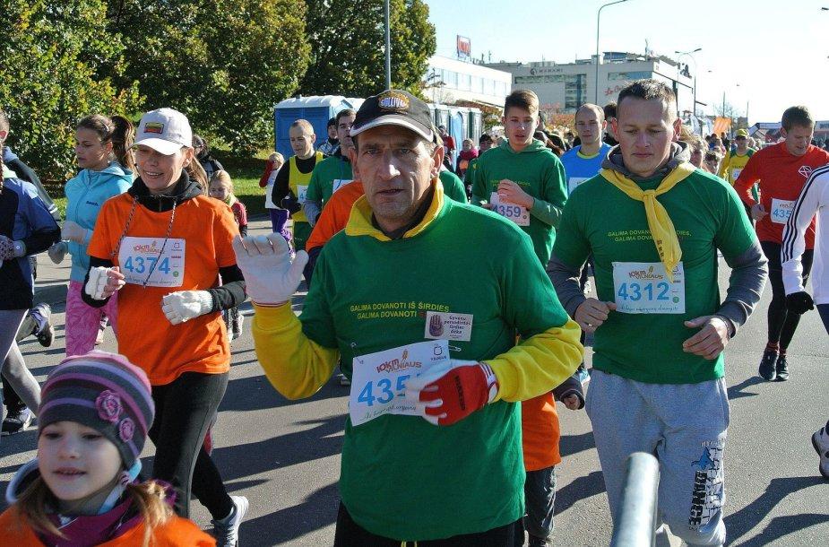 Rimvydas Vekerotas bėgioja ir po širdies persodinimo operacijos