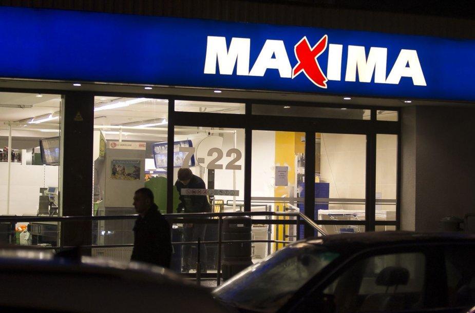 """Remontas prekybos centre """"Maxima"""""""