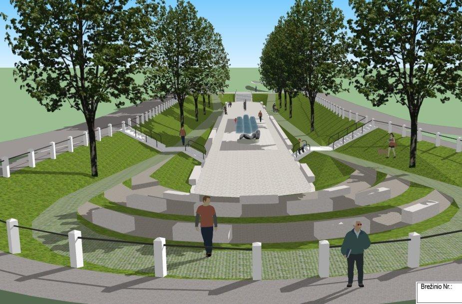 Kaunas pradeda Kauko laiptų rekonstrukciją