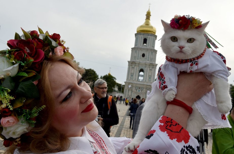 Ukrainos Nepriklausomybės dienos šventimas
