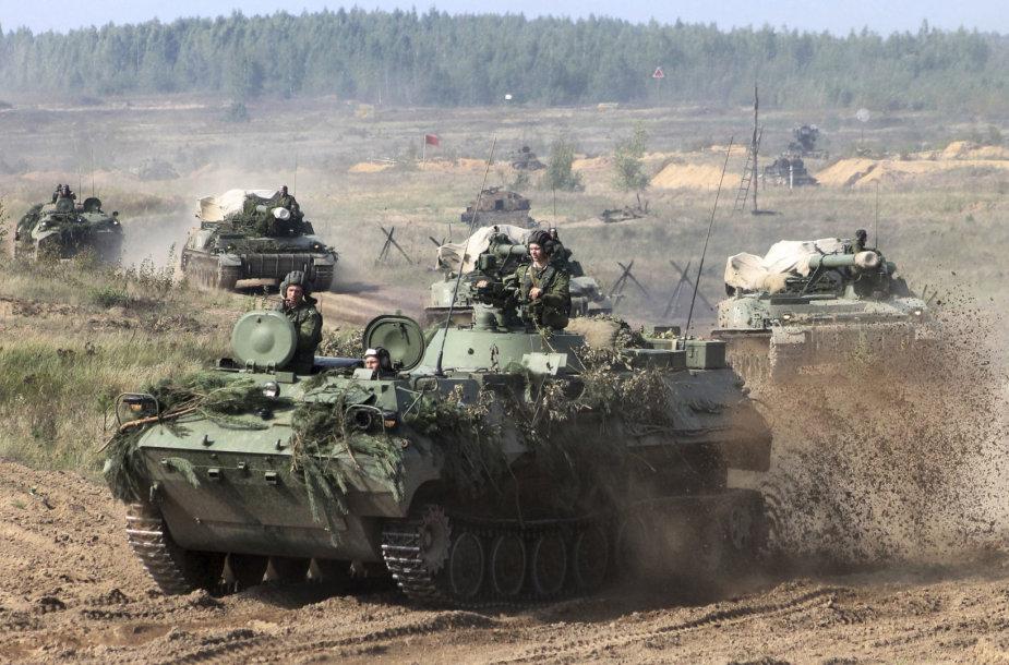 """Baltarusijos karinė technika prieš """"Zapad 2017"""""""