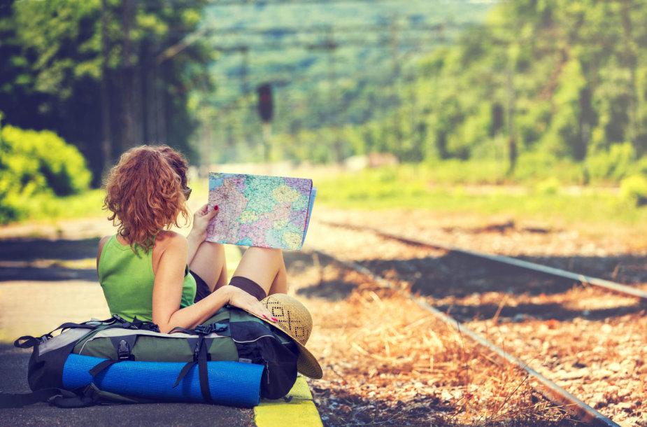 Kelionė traukiniu