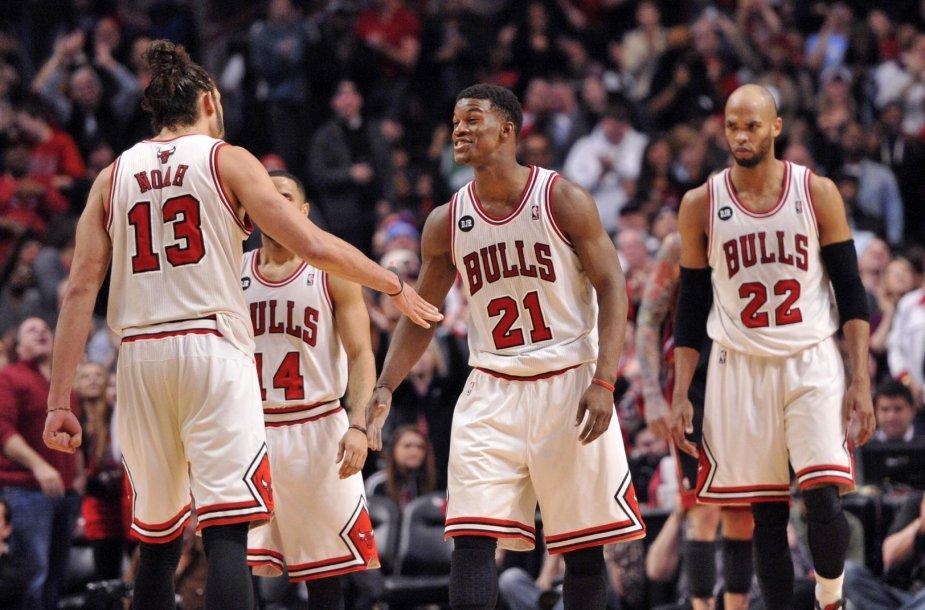 """""""Chicago Bulls"""" įveikė čempionus"""