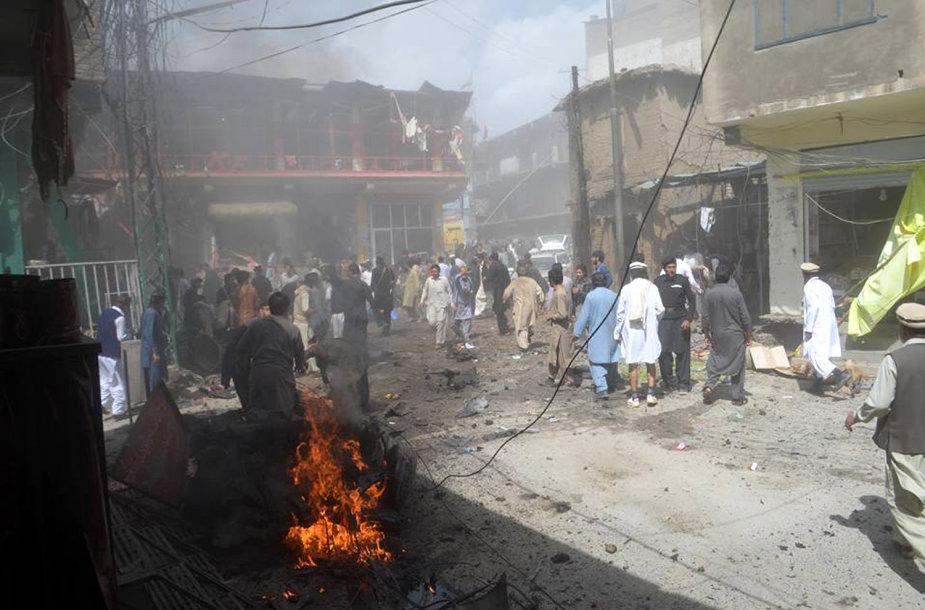 Sprogimas Pakistane