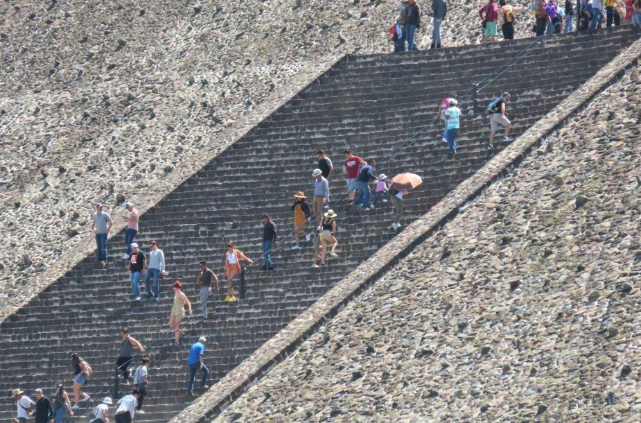 Pakeliui į viršų (Teotihuacan)