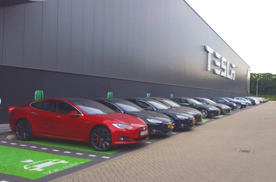 """Tesla"" gamykla Tilburge"
