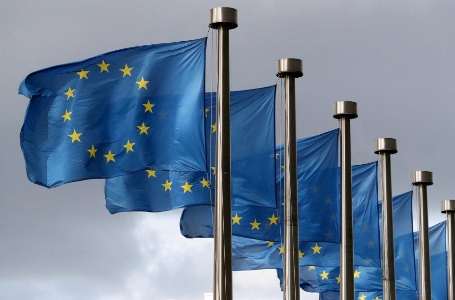 Europos Sąjungos vėliavos