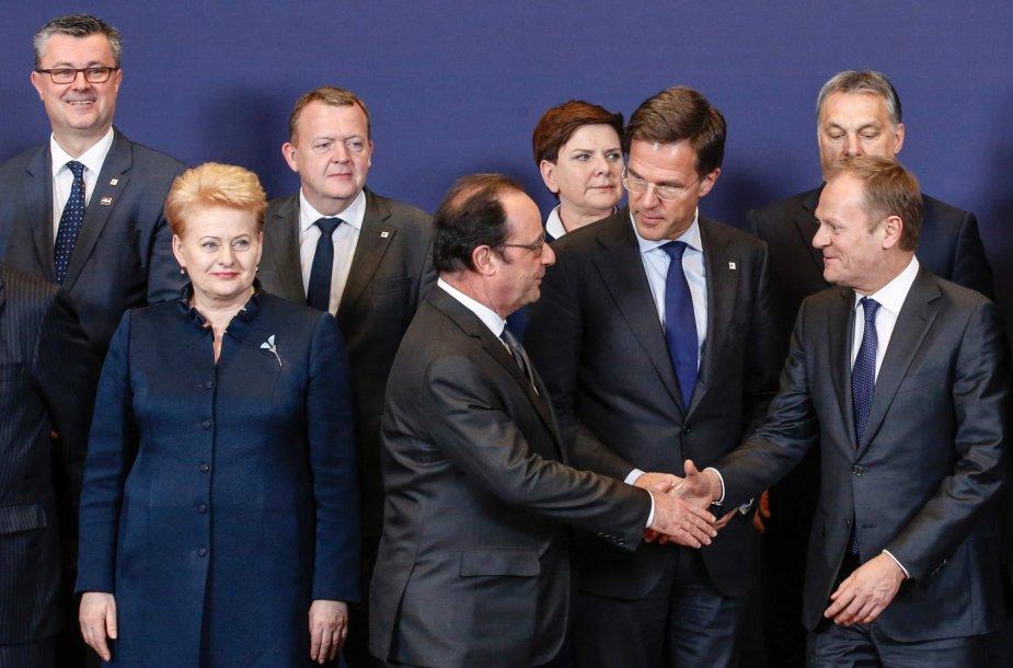 Europos Komisijos Europos Vadovų Tarybos posėdis