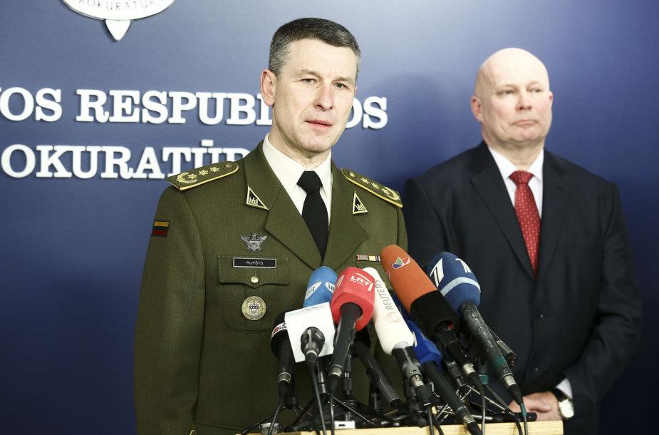Valdemaras Rupšys ir Raimondas Petrauskas