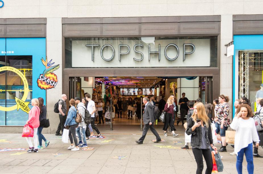 """Topshop"" parduotuvė"