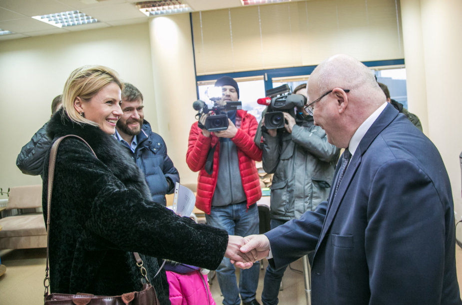 Greta Kildišienė ir Zenonas Vaigauskas
