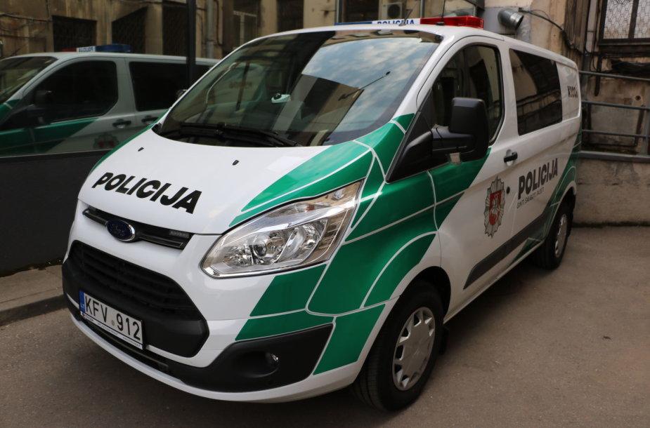 Naujieji Kauno apskrities policijos automobiliai išriedėjo į gatves