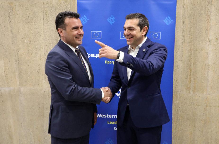 Zoranas Zajevas ir Aleksis Cipras